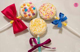 Dicas pra Mamãe: PAP - Cake Pops de bolacha recheada