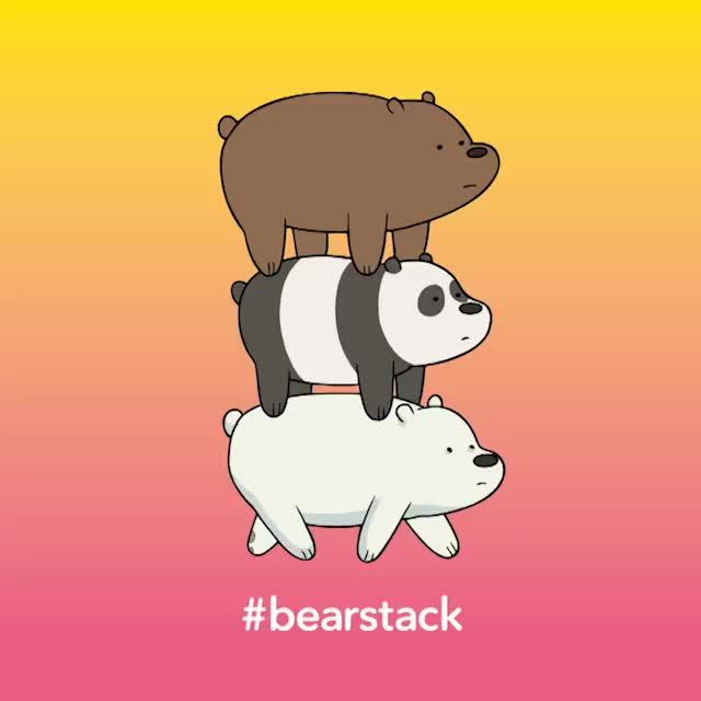 #bearstack the loyal Gem pet recruit that helps crystal gems just like lion. and in battle bearstack can transform into a huge monster that smash the ones attacking. + it has lazer eyes!