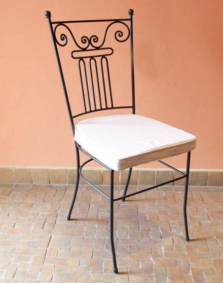 Moroccan Iron Based Garden Chair