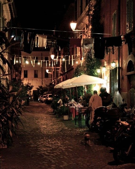 Evening in Trastevere Photograph by VitaNostra on Etsy