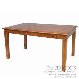 Jegoods Woodworking Studio produsen meja makan jati dining table teak minimalist contemporary furniture Jepara manufacturer exporter at wholesaler price.