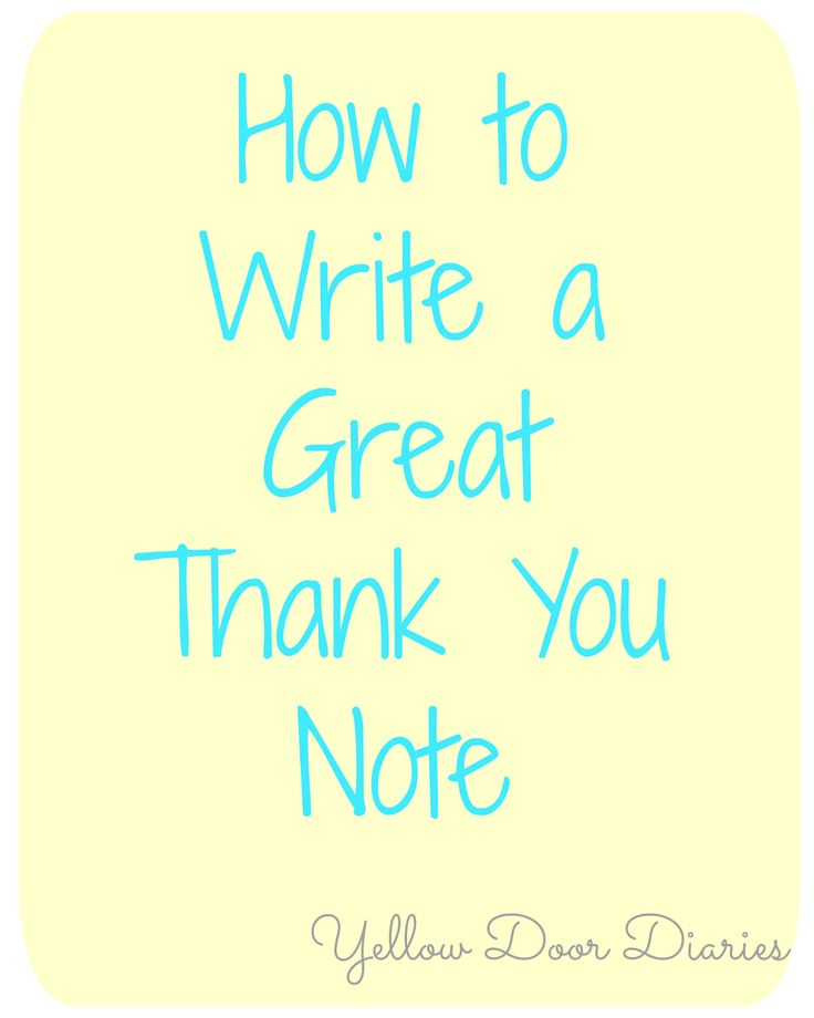 Best  Best Thank You Notes Ideas On   Interview