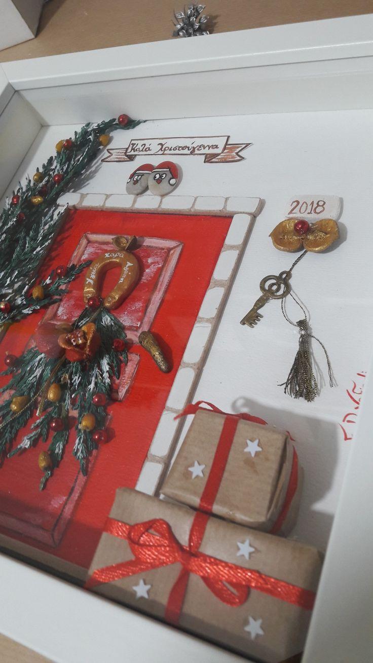#driftwoodfdvafiadi #pebbleart #frames #christmastree #christmas #fdvafiadi #driftwoodfdvafiadi