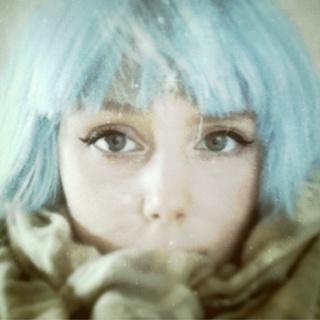Pastel hair, blue hair, manic panic