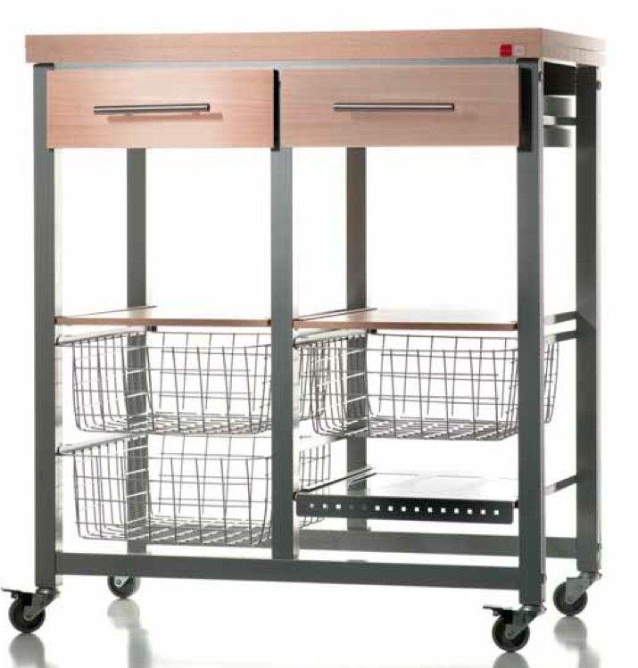 78 best ideas sobre mueble auxiliar cocina en pinterest for Mesa carrito auxiliar de cocina