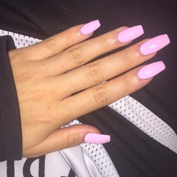 Light Pink Matte Acrylic Nails Google Search In 2018 Pinterest And