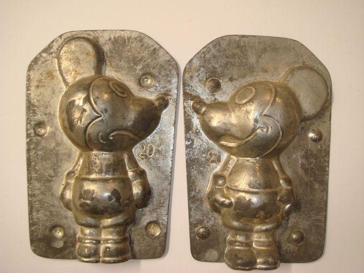 Schokoladenform chocolate mould moule chocolat  Mickey Mouse  in Antiquitäten & Kunst, Alte Berufe, Bäcker & Konditor | eBay!