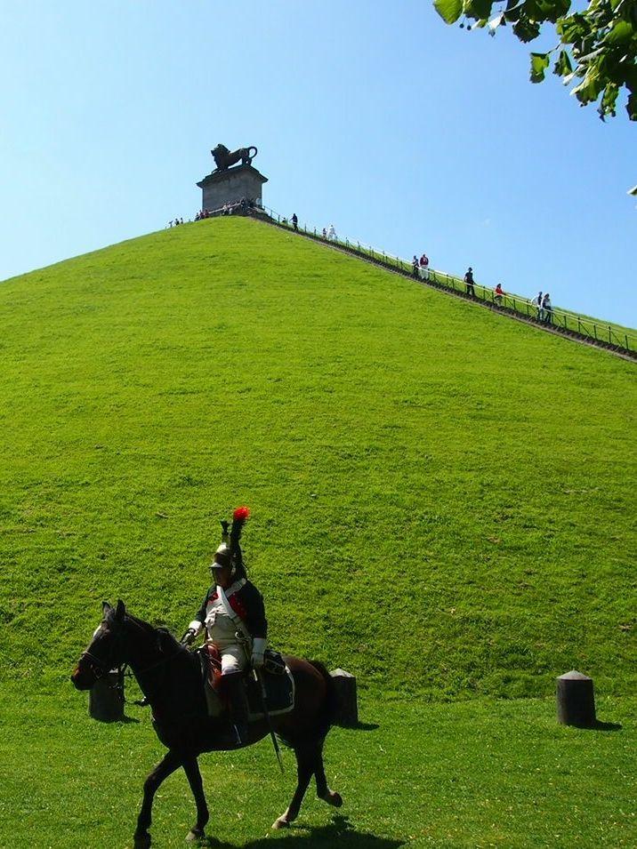 The Lion's Mound in #Waterloo, #Belgium
