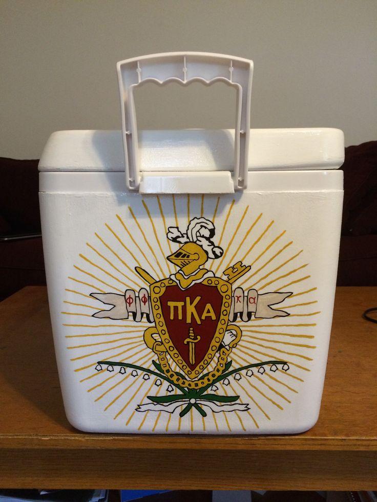 Pi Kappa Alpha cooler