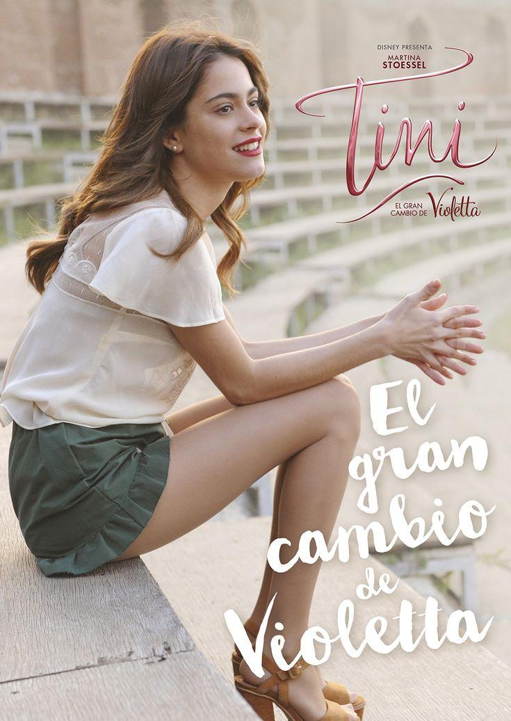 Zapowiedź hiszpańskiej książki Tini El Gran Cambio De Violetta