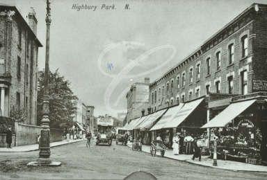 Highbury Park, 1910