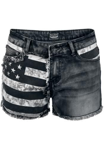 Flag Hotpants - Rock Rebel by EMP Short Sexy