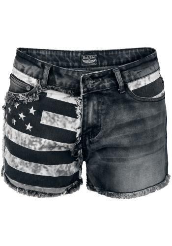 Flag Hotpants - Rock Rebel by EMP Short Sexy