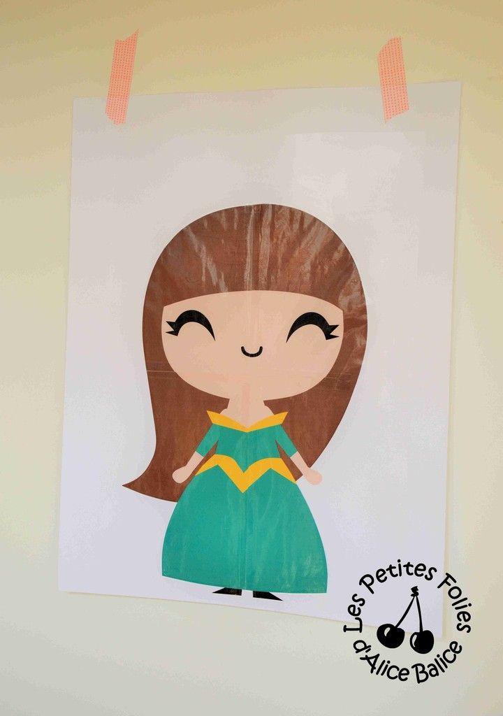 Anniversaire Princesse | activités | jeux | couronne | diy