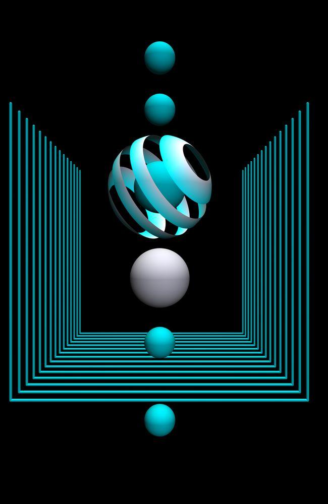 Geometric Design 702 Art Print By 3dart X Small Geometric Art Art Wallpaper Art Prints Cool mobile wallpaper images moving