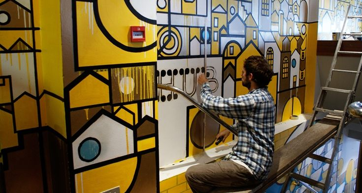 41 best images about mural ideas on pinterest for Mural restaurant