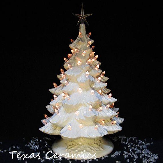 85 best Ceramic Christmas trees images on Pinterest | Ceramic ...