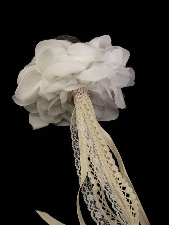 Wedding Bouquet / Big Wedding Rose Bouquet Bridal by LakaLuka