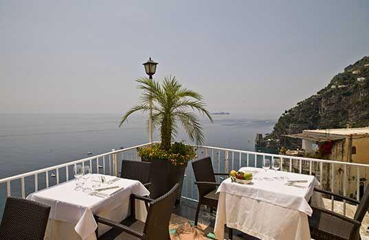 Ristorante Il Capitano - Hotel Montemare - migliori hotel positano hotel positano hotels positano positano coast