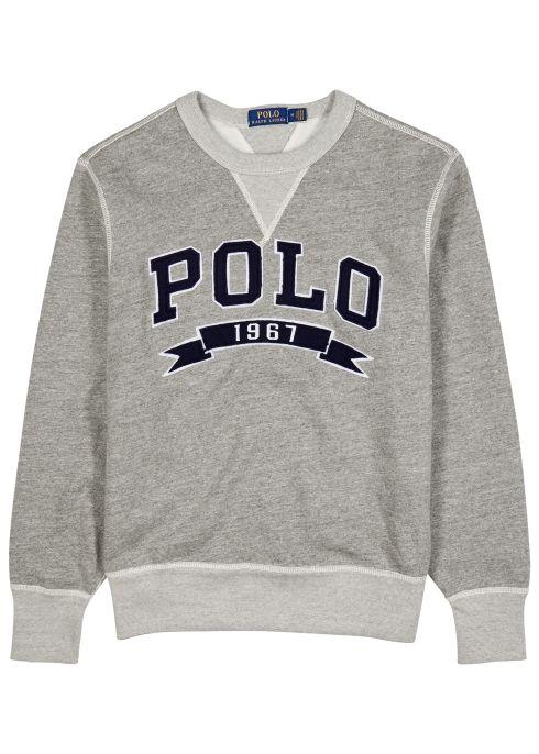 3d70bcdfb Logo-appliquéd cotton-blend sweatshirt - Polo Ralph Lauren | T-shirt ...