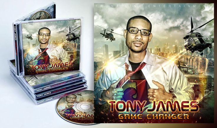 Cover Album Tony James | 2015