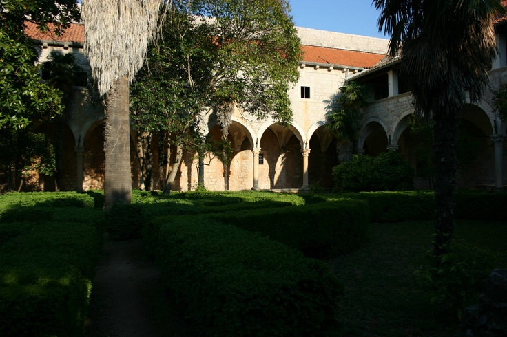 The gardens used to film numerous scenes in Qarth/King's Landing, located in an abandoned monastery on the island of Lokrum in Dubrovnik's bay. http://www.amazon.com/gp/product/1483921352