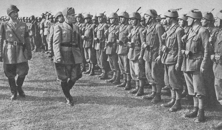 Il Duce e Fascismo on Pinterest | Italian Army, Italian and Wwii
