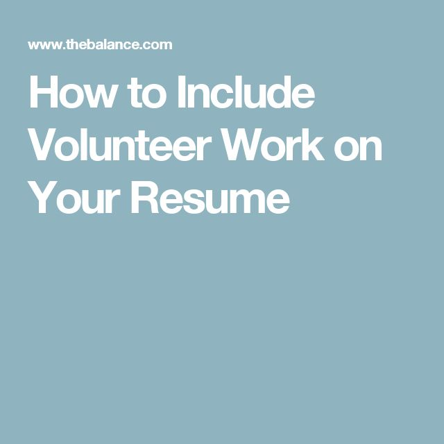66 best images about Milspouse Toolbox on Pinterest Military - volunteer work on resume