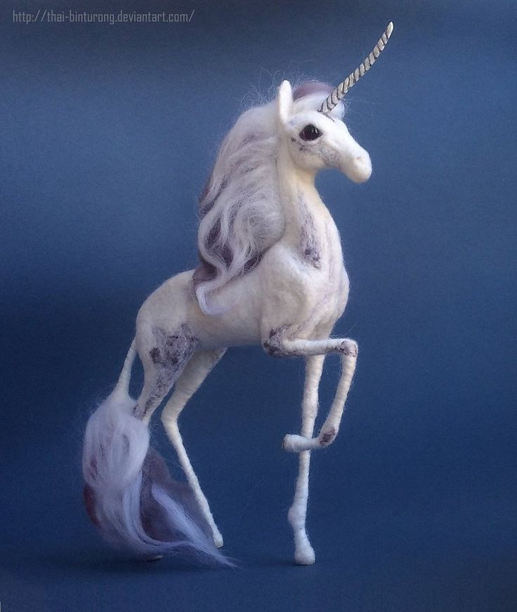 Another view of that unicorn This creature is adopted, but feel free to contact me if you are interested in a made to order creature of your design, life-like or fantasy
