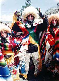 Parachico dancers from Chiapa de Corzo
