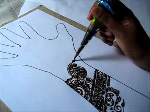 Simple and Easy Henna/Mehndi Design - 3 Natural Tattoo