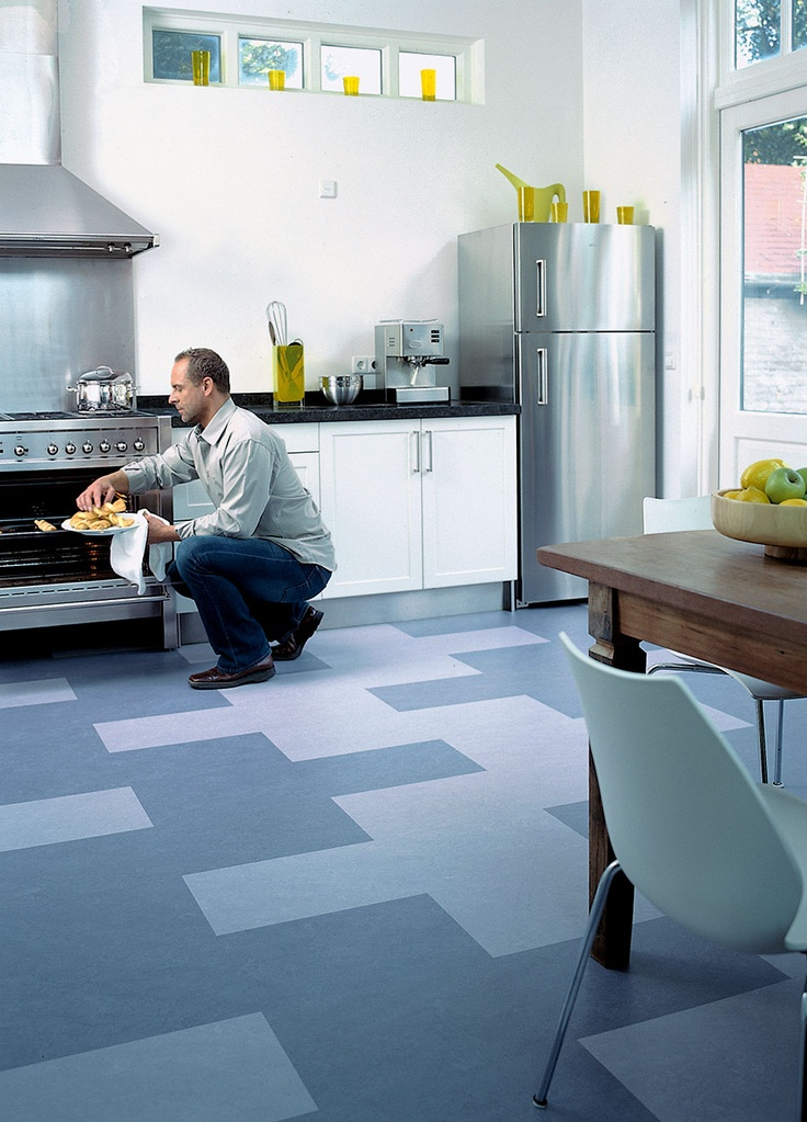 82 best marmoleum click patterns images on pinterest for Kitchen linoleum tiles