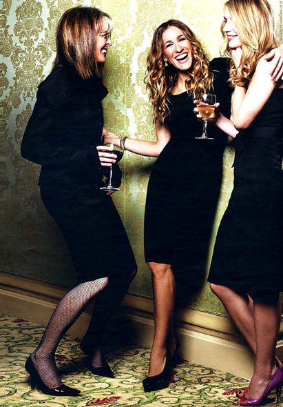 Diane Keaton, Sarah Jessica Parker  Claire Danes