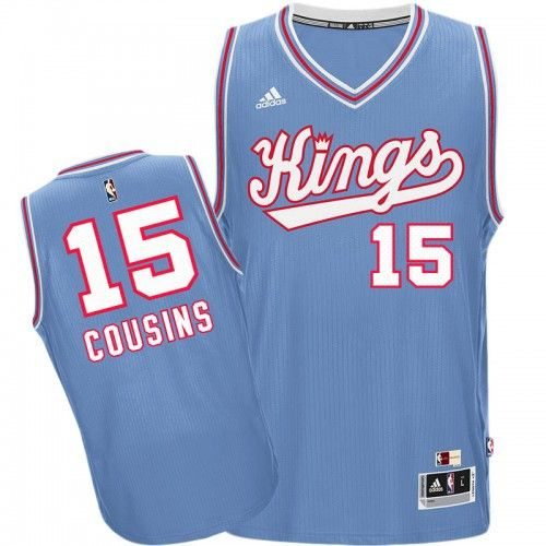 Sacremento Kings DeMarcus Cousins #15 Throwback Away Jersey