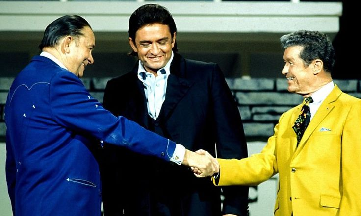 Johnny Cash: With Tex Ritter and Roy Acuff on the JC show