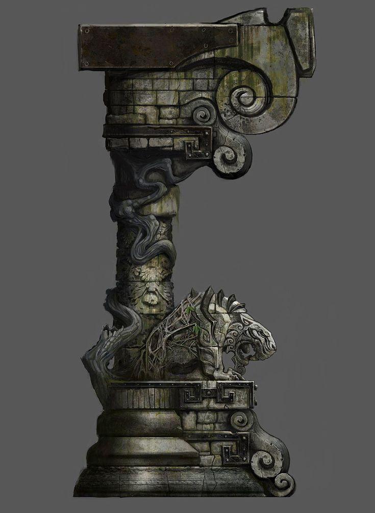 World of Warcraft: Mists of Pandaria  Tiger Column