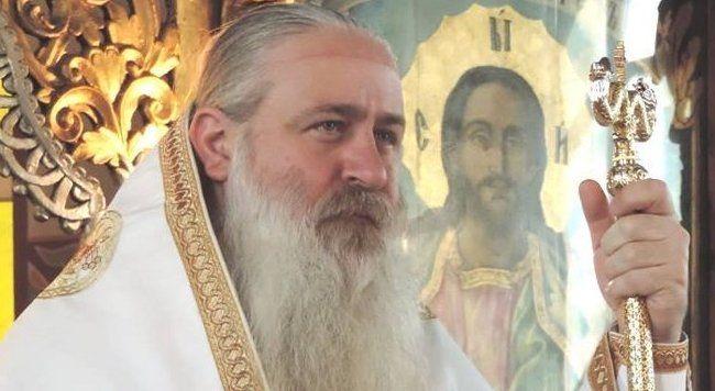 Негово Преосвещенство † Велички епископ СИОНИЙ