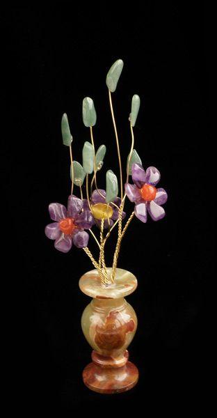 Цветы из камня - Фиолетовый