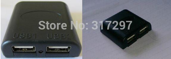 DIY Use Input 5V-12V Output Dual USB 5V USB Junction Box Solar Panel USB Voltage Controller Converter Controller