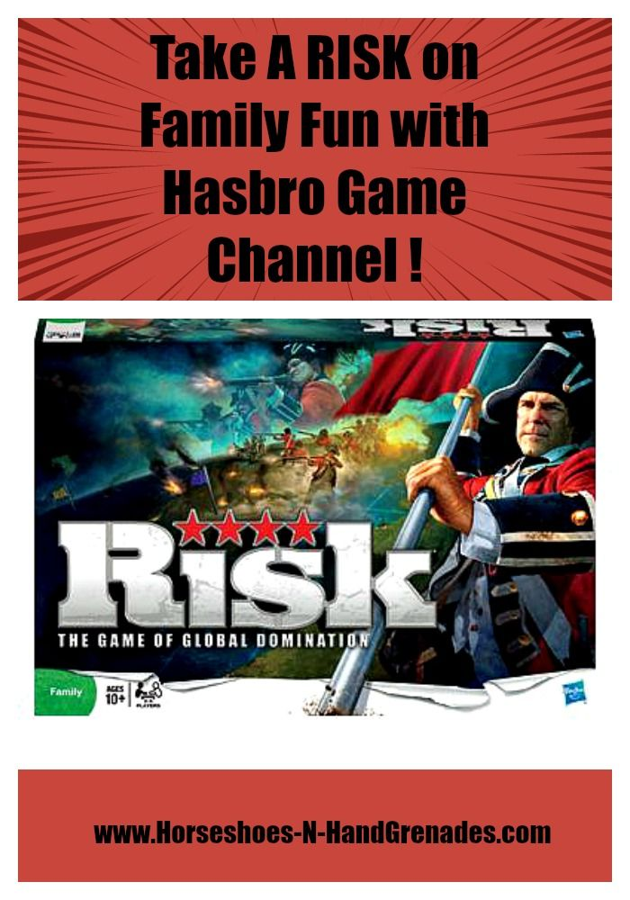 Take A RISK on Family Fun with Hasbro Game Channel