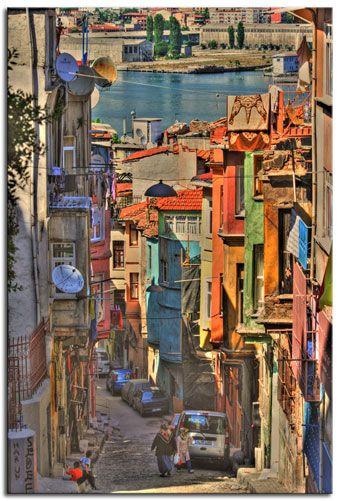 İstanbul Balat sokakları