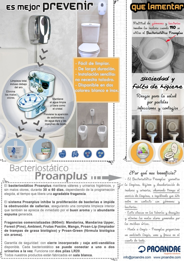 bacteriostatico-proanplus by Proandre Hygienic via Slideshare