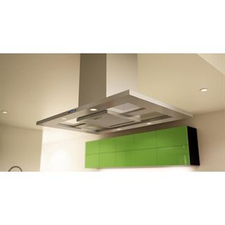 check out the zephyr zmde42as modena 42 715 cfm contemporary island range hood in stainless - Hotte De Cuisine Zephyr
