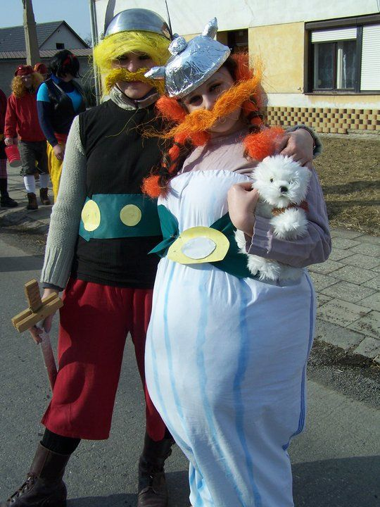 Costume Asterix and Obelix