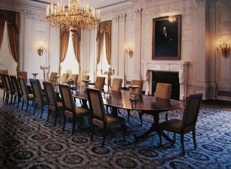 State Dining Room Jackie Kennedy S White House