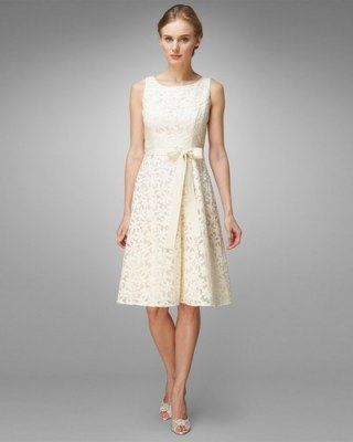 Robe mariage civil : Daisy Embroidered