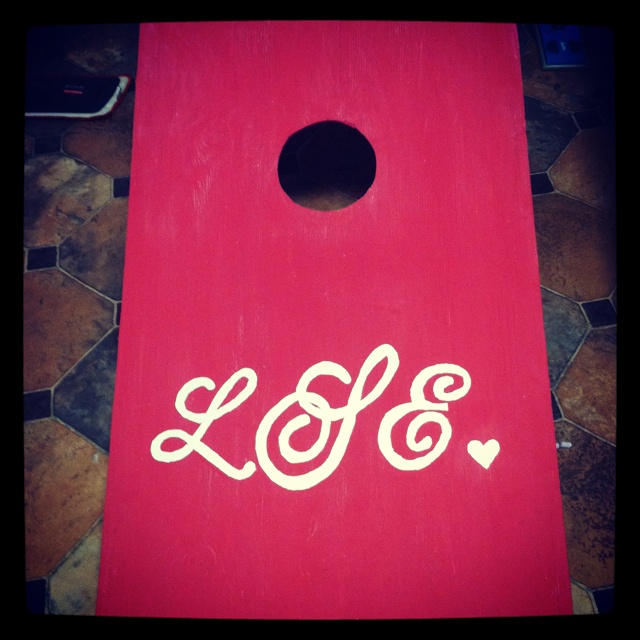 1000 images about corn hole board designs on pinterest - Can you use interior paint outdoors ...