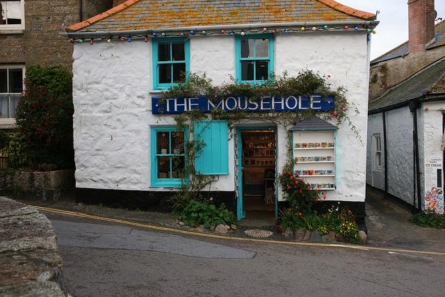 Mousehole Cornwall by jinxsi1960, via Flickr