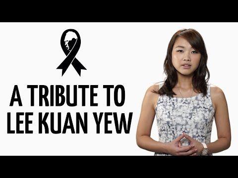 Our Tribute to Lee Kuan Yew #LKY #LeeKuanYew #TributetoLeeKuanYew