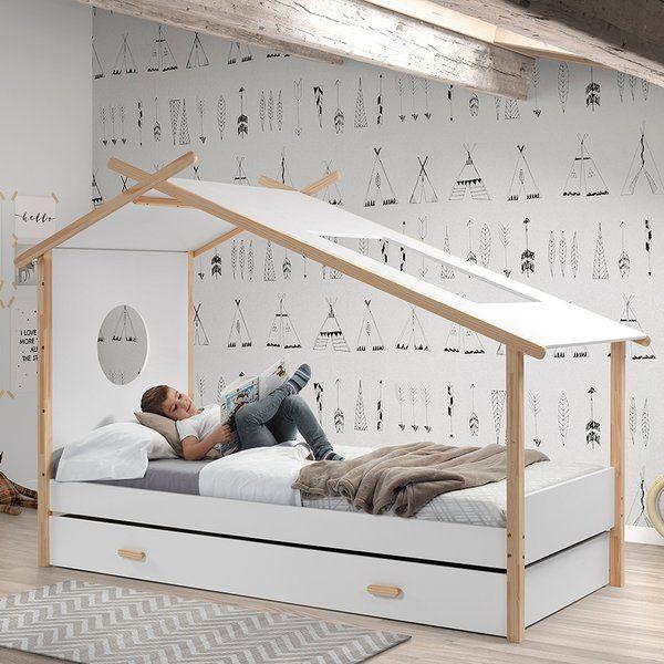 das bett von cocoon ist ein tolles bett in zelt optik inklusive einer bettschublade - Fantastisch Tolles Dekoration Kinderbett Zum Ausziehen